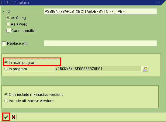 SAPScript Debugging step 4