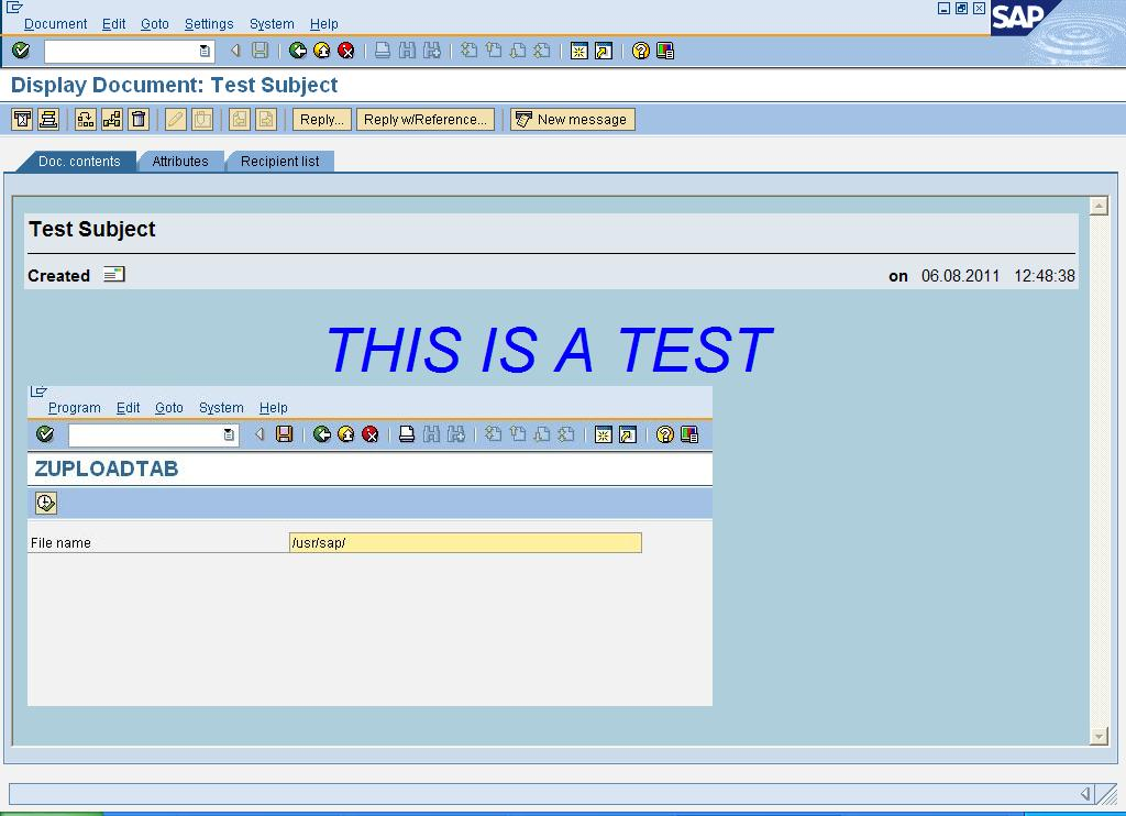 SAP ABAP embed an image to body of an email
