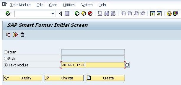 SAP Smartforms in Hindi Language