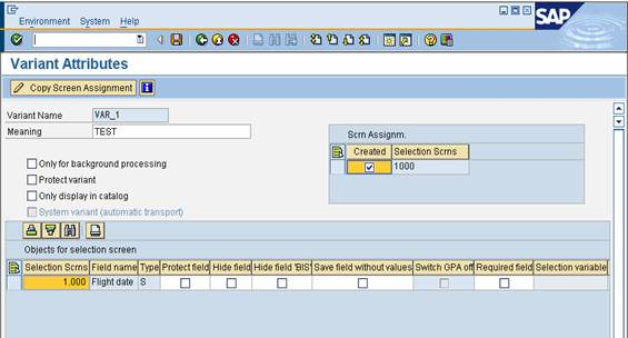 Selection-Screen Archives - ABAP Tutorials